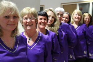 Members of the Galway Gospel Choir
