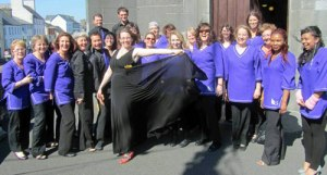 Galway Gospel Choir competing in Mayo Choral Festival, 2011