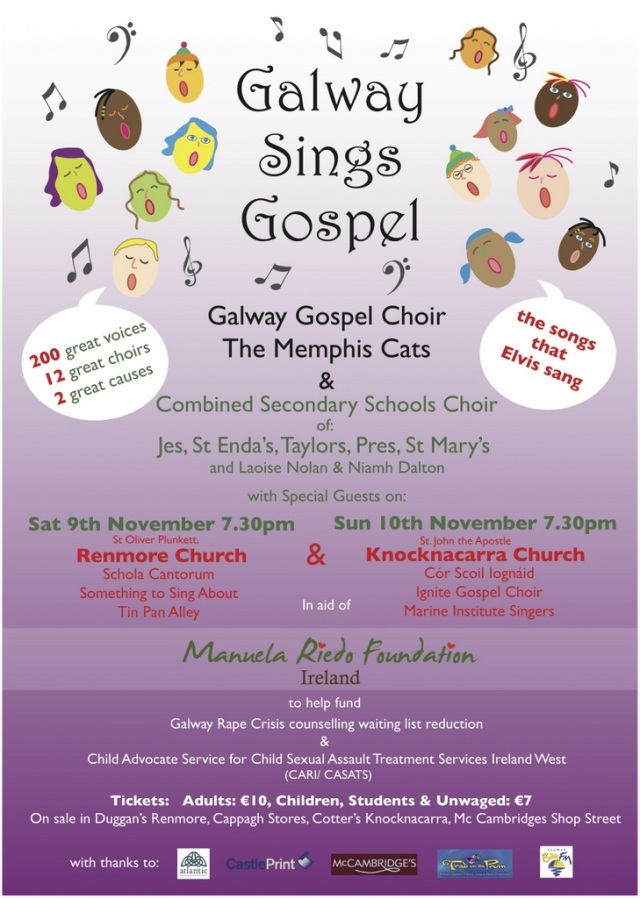 Galway sings Gospel
